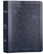 TPT New Testament Large Print Navy (Black Letter Edition) (With Psalms, Proverbs And The Song Of Songs) Imitation Leather