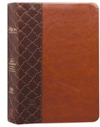 TPT New Testament Compact Brown (Black Letter Edition) (With Psalms, Proverbs And The Song Of Songs) Imitation Leather
