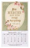 2021 Mini Magnetic Calendar: His Mercies Are New Every Morning Calendar