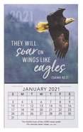 2021 Mini Magnetic Calendar: They Will Soar on Wings Like Eagles Calendar