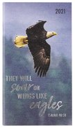 2021 24-Month Daily Diary/Planner: They Will Soar on Wings Like Eagles Paperback
