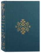 ESV Women's Study Bible Dark Teal (Black Letter Edition) Fabric Over Hardback