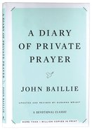 A Diary of Private Prayer (& 2014) Hardback