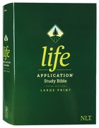 NLT Life Application Study Bible 3rd Edition Large Print (Red Letter Edition) Hardback