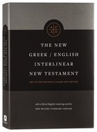 NRSV New Greek-English Interlinear New Testament Usb 5th + Nestle Aland 28Th Edition Hardback