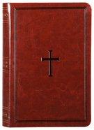 NKJV Compact Ultrathin Bible Brown Premium Imitation Leather