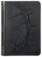 NKJV Compact Ultrathin Bible Charcoal Premium Imitation Leather