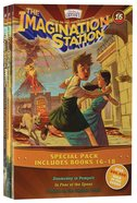 Imagination Station Books 3-Pack: Doomsday in Pompeii/In Fear of the Spear/Trouble on the Orphan Train (Adventures In Odyssey Imagination Station (Aio Paperback