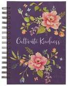 Journal- Cultivate Kindness, Purple Floral (Cultivate Kindness Collection) Spiral