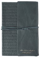 Journal: Genuine Leather With Wrap Closure, For I Know the Plans Genuine Leather