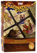 Light in the Lions' Den/Inferno in Tokyo/Madman in Manhattan (Adventures In Odyssey Imagination Station (Aio) Series) Paperback