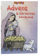 Activity Book Christmas and Advent (Itty Bitty Bible Series) Paperback