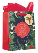 Christmas Medium Gift Bag: A Child is Born (Includes One Sheet Of Tissue Paper, Satin Ribbon Handles With Gift Tag) Stationery