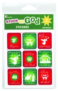 Christmas Self Adhesive Stickers Pack: Celebrate His Birth Stickers