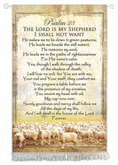 Tapestry: The Lord is My Shepherd, Psalm 23 Homeware