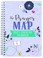 2021 17-Month Creative Diary/Planner: The Prayer Map Spiral