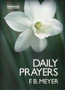 Daily Prayers Hardback