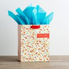 Gift Bag Medium: Floral Fun Times (Incl Two Sheets Tissue Paper & Gift Tag) Stationery