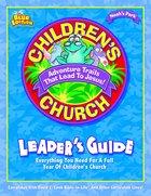Noah's Park Children's Church Leader's Guide (Blue Edition, With CD) (Noah's Park Series) Paperback
