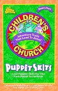 Noah's Park Children's Church Puppet Skits (Green Edition) (Noah's Park Series) Paperback
