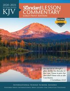 KJV Standard Lesson Commentary Large Print Edition 2020-2021 Paperback