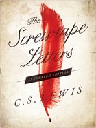 The Screwtape Letters: Annotated Edition Hardback