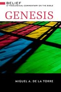 Genesis (Brazos Theological Commentary On The Bible Series) Hardback