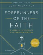 Forerunners of the Faith Teachers Guide eBook