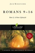 Romans 9-16 (Lifeguide Bible Study Series) eBook