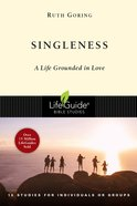 Singleness (Lifeguide Bible Study Series) eBook
