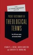 Pocket Dictionary of Theological Terms (Ivp Pocket Reference Series) eBook
