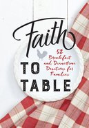 Faith to Table eBook