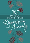 365 Days of Prayer For Depression & Anxiety eBook
