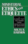 Ministerial Ethics and Etiquette eBook