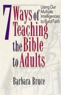 7 Ways of Teaching the Bible to Adults eBook