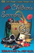 More Childrens Sermons to Go (101 Questions About The Bible Kingstone Comics Series) eBook