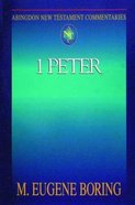 1 Peter (Abingdon New Testament Commentaries Series) eBook