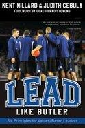 Lead Like Butler eBook