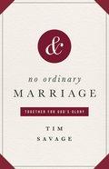 No Ordinary Marriage eBook