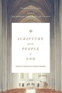 Scripture and the People of God eBook