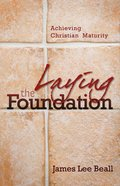 Laying the Foundation eBook