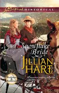Snowflake Bride (Love Inspired Series Historical) eBook