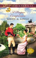 A Proper Companion (Love Inspired Series Historical) eBook