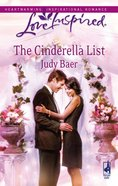 The Cinderella List (Love Inspired Series) eBook