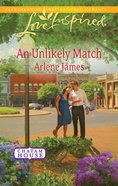 An Unlikely Match (Love Inspired Series) eBook