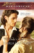 The Duke's Redemption (Love Inspired Historical Series) eBook