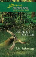 Code of Justice (Love Inspired Suspense Series) eBook
