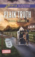 Plain Truth (Love Inspired Suspense Series) eBook