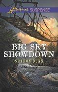 Big Sky Showdown (Love Inspired Suspense Series) eBook