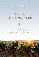 Wisdom From the Proverbs eBook